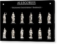 Allegories Acrylic Print