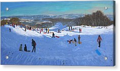 Allestree Park Derby Acrylic Print by Andrew Macara