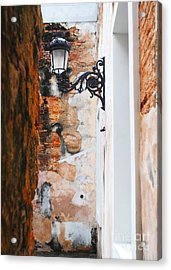 Alley Of Jail Acrylic Print