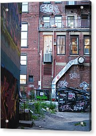 Acrylic Print featuring the photograph Alley by Paul Noble
