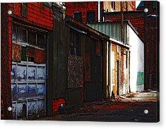 Alley Acrylic Print by Rowana Ray