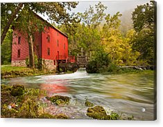 Alley Spring Mill - Eminence Missouri Acrylic Print by Gregory Ballos