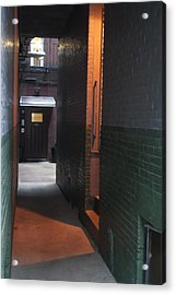 Alley Way Acrylic Print by Gretchen Lally