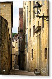 Alleys Of Sarlat Acrylic Print