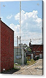 Alleyway Acrylic Print by Beverly Hammond