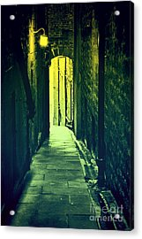 Acrylic Print featuring the photograph Alleyway by Craig B
