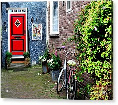 Acrylic Print featuring the photograph Alleyway In Dutch Village by Joe  Ng