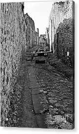 Alleyway Acrylic Print by Marion Galt