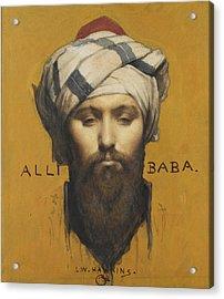 Alli Baba Acrylic Print by Louis Weldon Hawkins