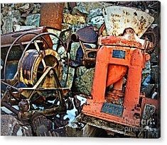 Allis Chalmers 1898 Acrylic Print by Lee Craig
