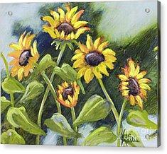 Alluring Sunnies  Acrylic Print by Vic  Mastis