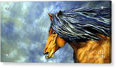 Acrylic Print featuring the painting Almanzors Glissando  by Alison Caltrider