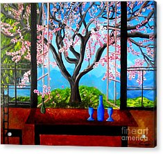 Almond With A View Acrylic Print