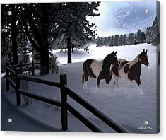 Almost Christmas Acrylic Print