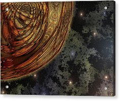 Almost Cosmos Acrylic Print by Wendy J St Christopher