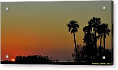 Acrylic Print featuring the photograph Almost Gone by Richard Zentner