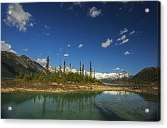 Almost Heaven Acrylic Print by Aaron Bedell