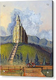 Almost Home Acrylic Print by Jeff Brimley