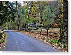 Almost Home Acrylic Print by Paul Ward