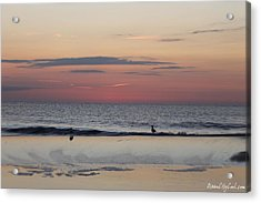 Almost Sunrise Acrylic Print by Robert Banach