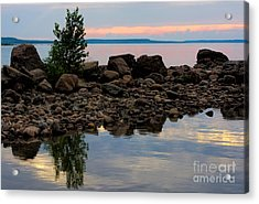 Almost Sunset At Awenda Beach Acrylic Print