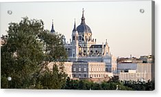Almudena Church Madrid Acrylic Print