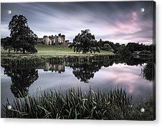 Alnwick Castle Sunset Acrylic Print