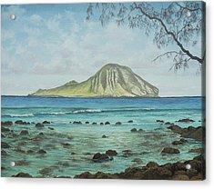 Aloha Kakahiaka Manana Acrylic Print by Wallace Kong