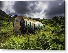 Aloha Acrylic Print by Luna Curran