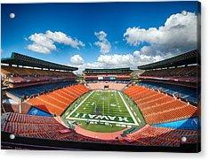 Aloha Stadium Acrylic Print