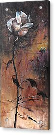 Alone In The Night  Acrylic Print