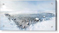 Alone In The Silence Acrylic Print by Nicola Molteni