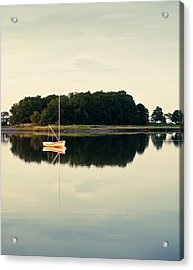 Alone Acrylic Print by Lee Costa