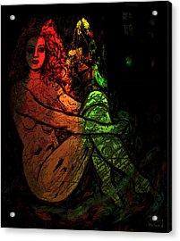 Alone Acrylic Print by Natalie Holland