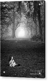 Alone Acrylic Print by Tim Gainey