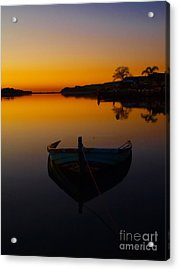 Acrylic Print featuring the photograph Alone by Trena Mara