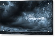 Alone Acrylic Print by Vincent  Dale