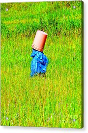 Alone With My Thoughts Acrylic Print by Newel Hunter