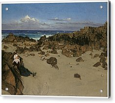 Alone With The Tide Acrylic Print by James Abbott McNeill Whistler