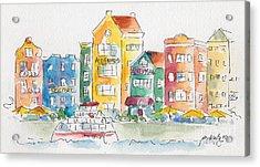 Along Saint Anna Bay Acrylic Print