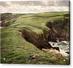 Along The Coast Path Acrylic Print