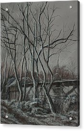 Along The Greenway 2 Acrylic Print by Janet Felts
