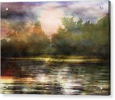 Along The Riverside Acrylic Print