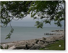 Acrylic Print featuring the photograph Along The Shore by Kay Novy