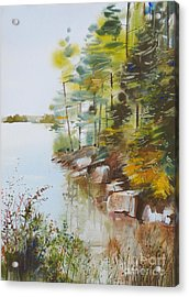 Along The Shore Acrylic Print