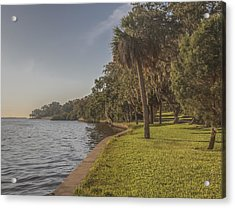Acrylic Print featuring the photograph Along The Wall by Jane Luxton