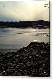 Alongside The Hudson Acrylic Print