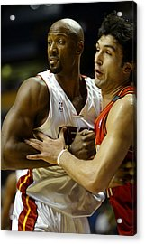 Acrylic Print featuring the photograph Alonzo Mourning by Don Olea