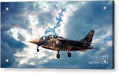 Alpha Jet 082 Acrylic Print by Bianca Nadeau