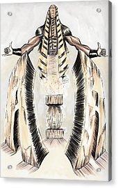 Alpha Pharaoh  Acrylic Print